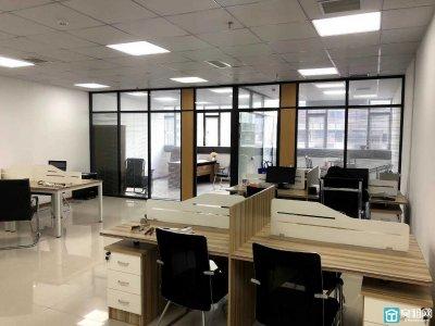 美豪大厦130平带全套办公家具