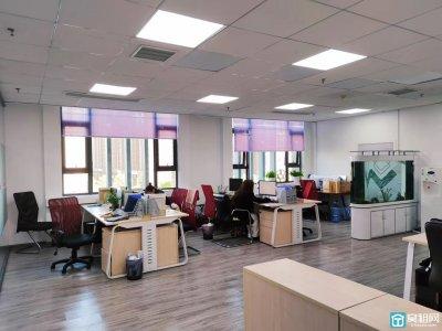 宁波华贸总部一号198平 3个隔间出租可以做培训教育