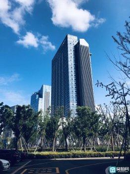 北部商务区欣捷中心大厦1100平米整层出租赠送300平大露台