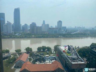 宁波江北江景办公室出租全新装修
