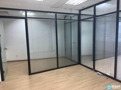 宁波中河街道奥丽赛70.5平 精装3玻璃隔间出租