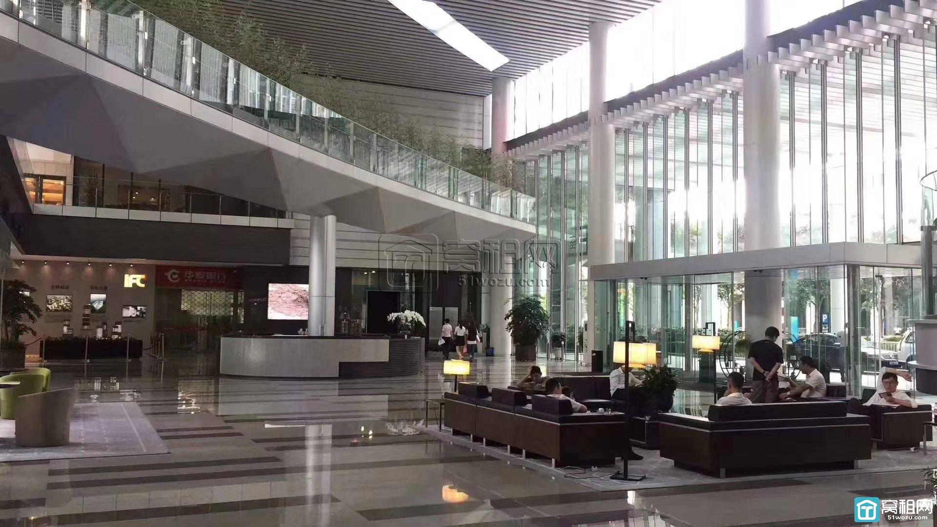 宁波华夏银行国际金融中心286平米办公室出租