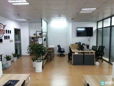 宁波东渡路华联写字楼9楼精装修180平写字楼出租