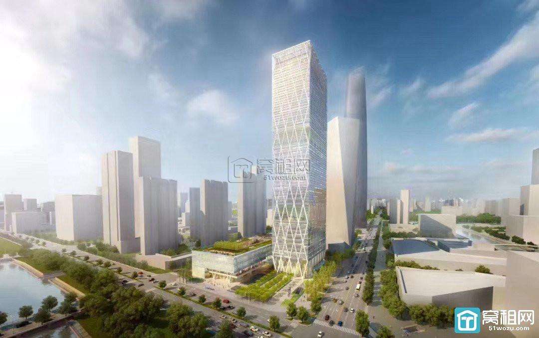 宁波宏泰广场对面国华金融大厦整层3500平米出租