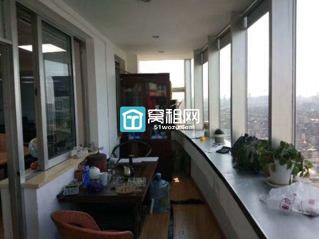 出租包商大厦还有一间170平 6800独立空调  带家具
