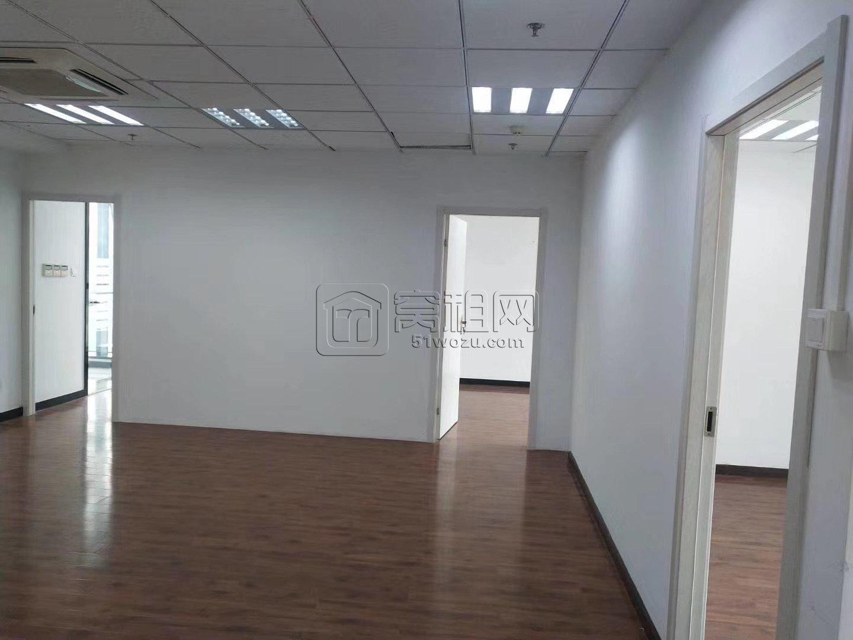 宁波高新区三方大厦220平米带隔间东南朝向电梯口办公室出租