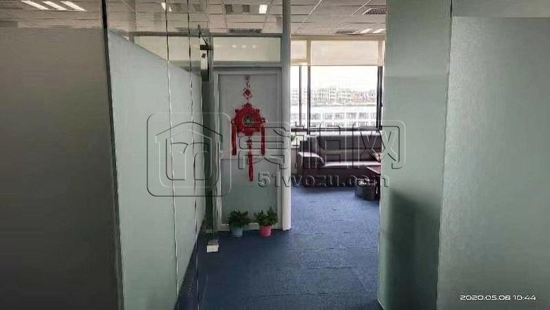 宁波电大隔壁江北海田大厦 建筑面积112平米出租精装修