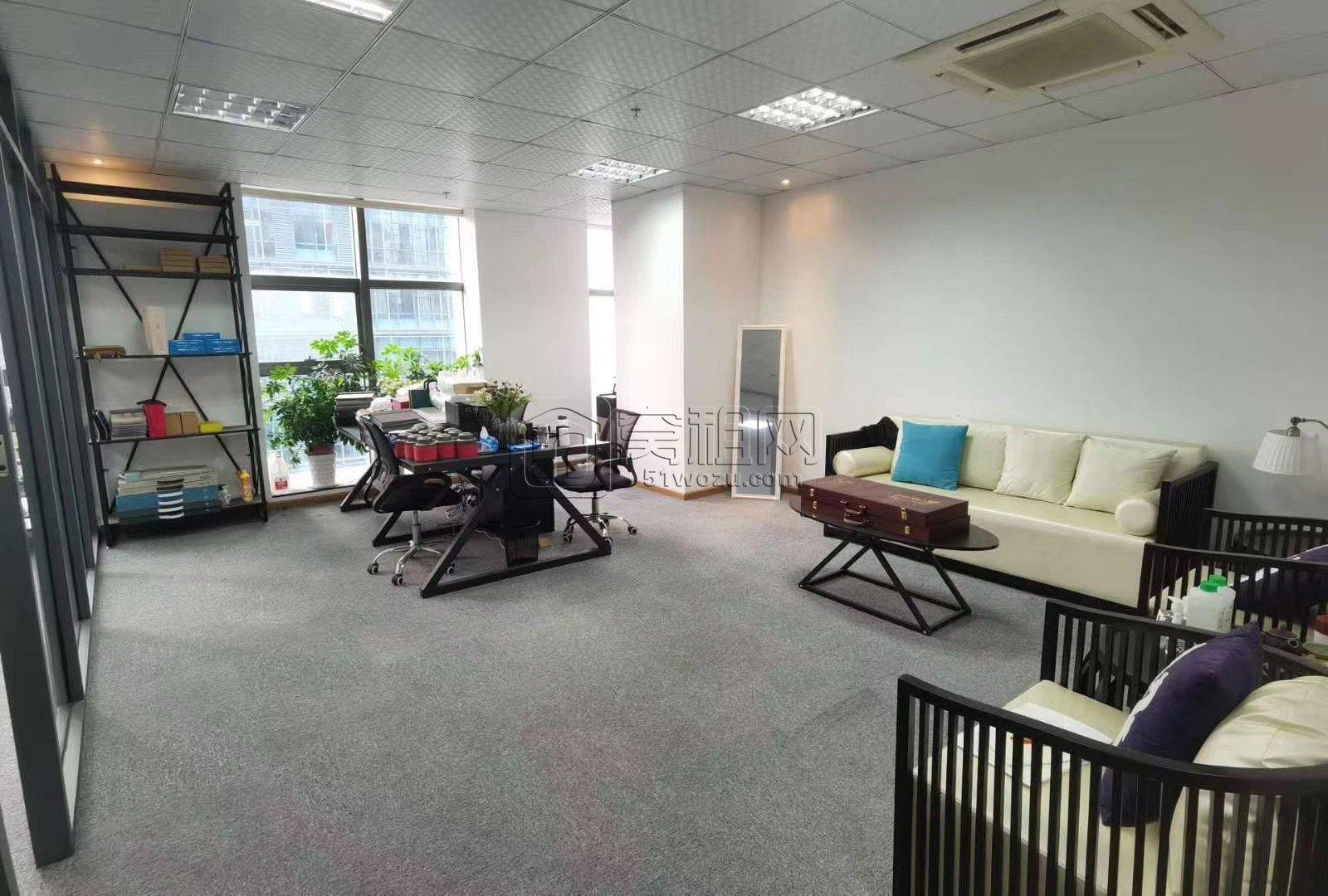 宁波南部商务区博纳大厦130平米2隔间写字楼出租