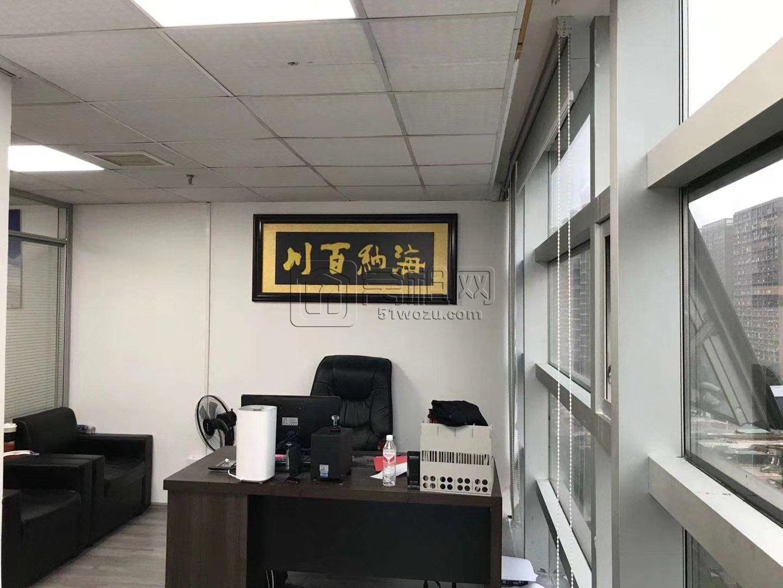 宁波高新区科贸中心48平米双面采光出租2000元每月