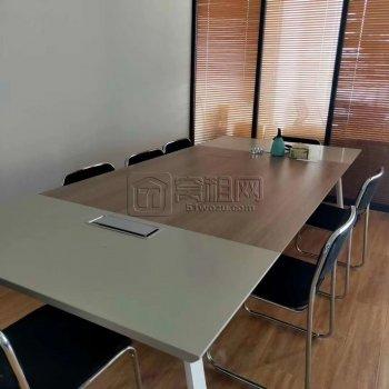 高新区外径合作大厦精装128平带隔间客户出租