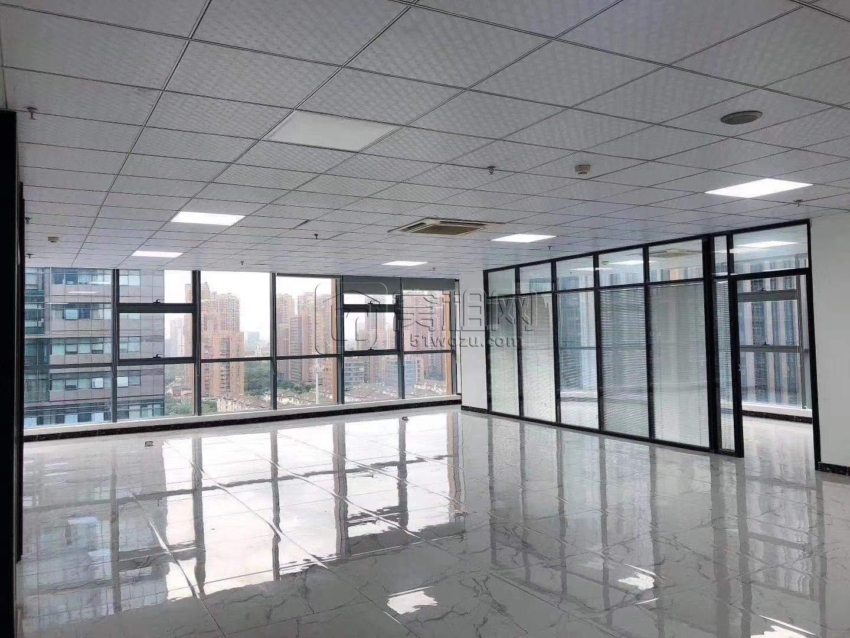 南部商务区CBD国骅大厦东南双面落地窗办公室出租