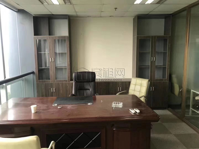 奥克斯大厦220平自带全套办公家具拎包入住招商