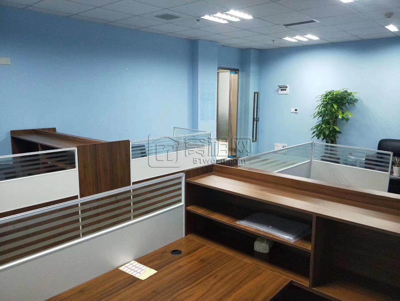 宁波荣安大厦72平 精装带家具出租 可以注册公司