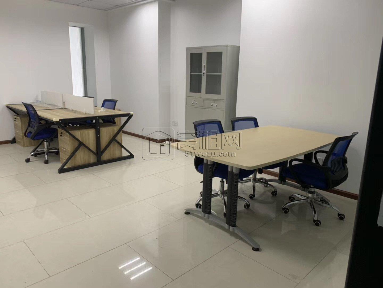 南部商务区荣安大厦50平可以注册公司 精装带家具出租