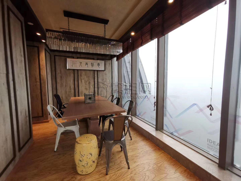 鄞州第一高楼宁波商会国贸中心1200平豪装带家具