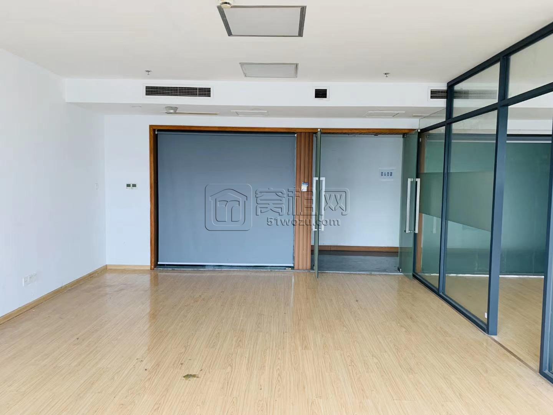 新洲银座8楼出租 128平办公室 特价5000/月 朝南全落地