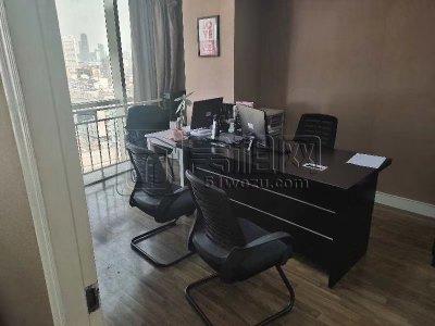 宁波包商大厦对面崇光大厦15楼带家具三个隔间办公室出租
