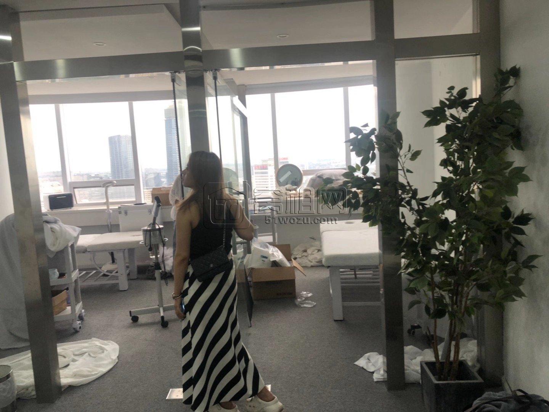 天一广场两条地铁口中农信大厦75平米写字楼朝三江口出租