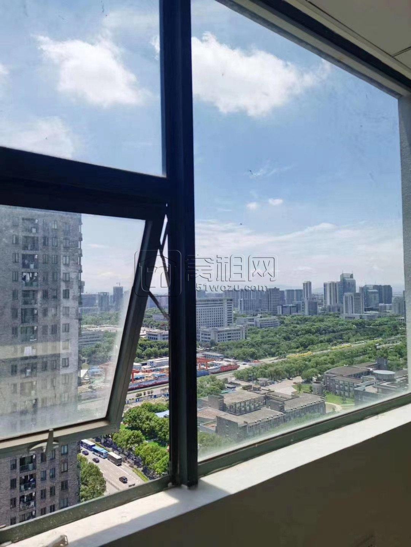 宁波万达附近电梯口麒麟大厦65平米写字楼出租