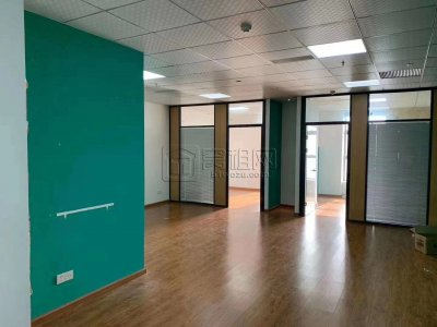 鄞州万达附近慧和大厦31楼办公室120平米精装2隔间出租