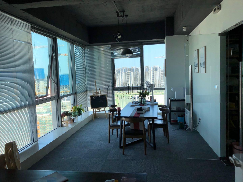 宁波2号线地铁倪家堰附近日湖中心写字楼135平米办公室转租