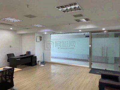 麒麟大厦南楼108平米办公室带家具出租