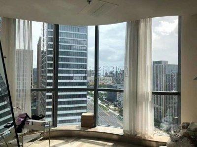 国骅大厦精装42平办公室落地窗朝南出租