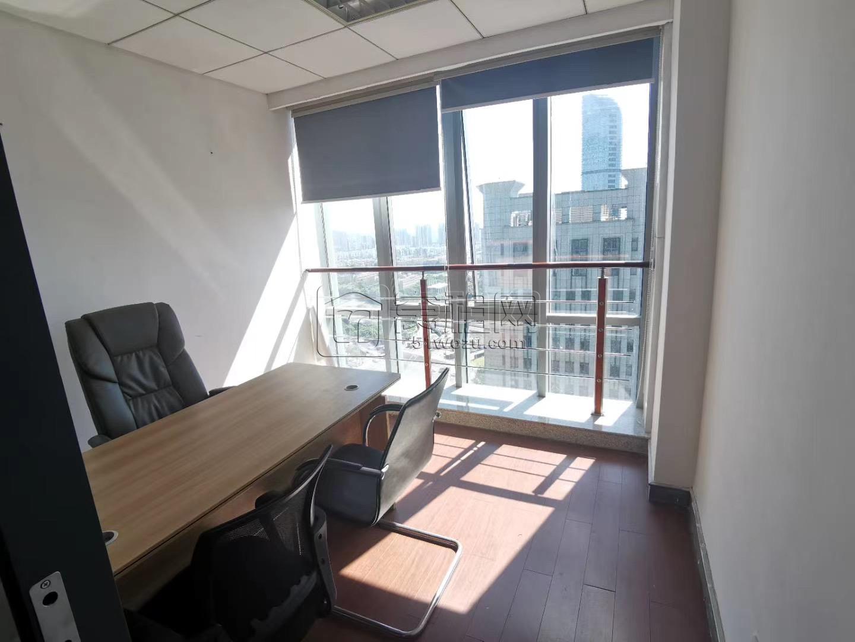 南部商务区附近地铁口鄞州商会大厦50平米办公室出租带家具适合创