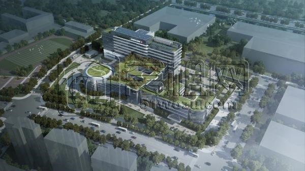 总占地3.7万㎡ 宁波市中西医结合医院工程规划方