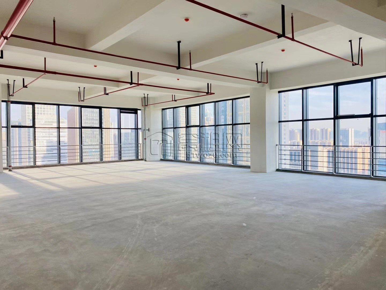 迪趣大厦西面嘉美大厦19楼毛坯 288.16平、得房率
