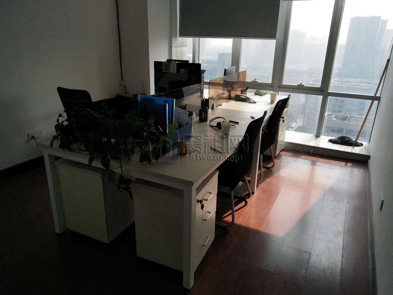 万达广场附近鄞州商会南楼90平米办公室转租