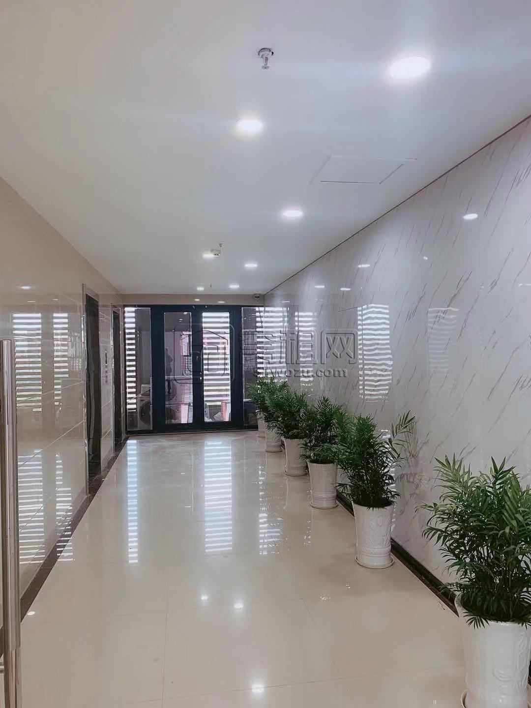 高新区翡翠湾电梯口正朝南高楼层办公室出租
