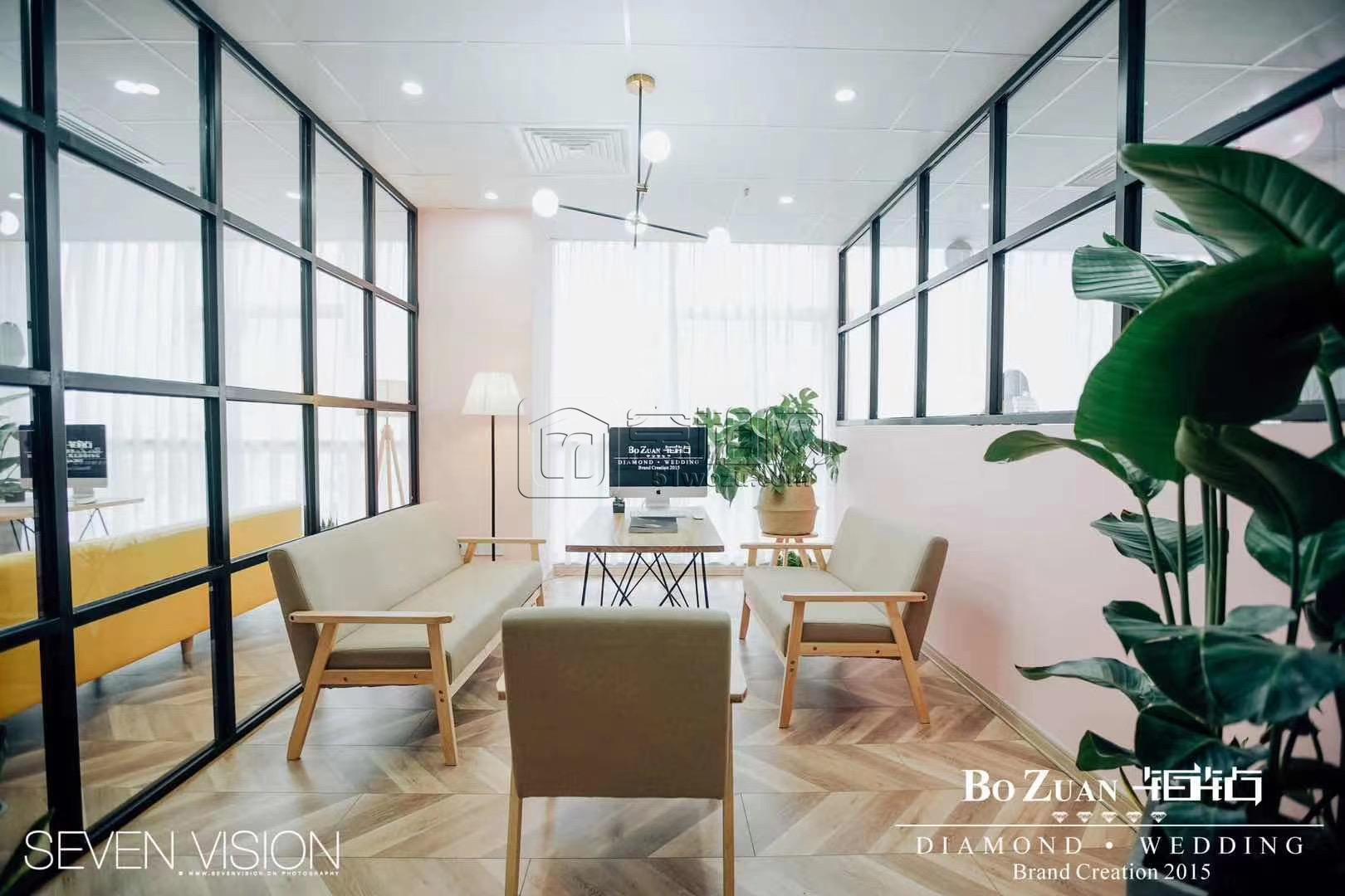 鄞州商务大厦170平米精装办公室转租