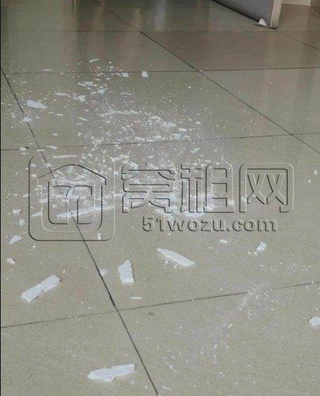 天花板纷纷掉皮,马桶盖不见了,物业费却高达