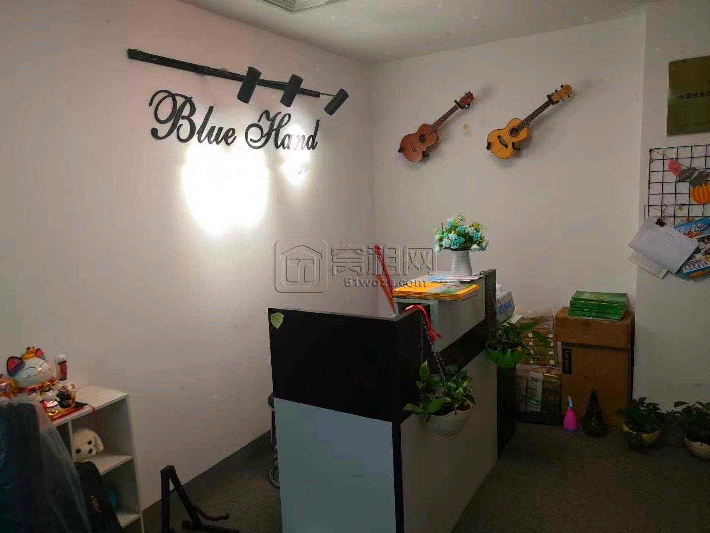 鄞州万达附近写字楼名汇国际100平工作室4200元月