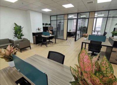 研发园130平方带经理室家具一套出租