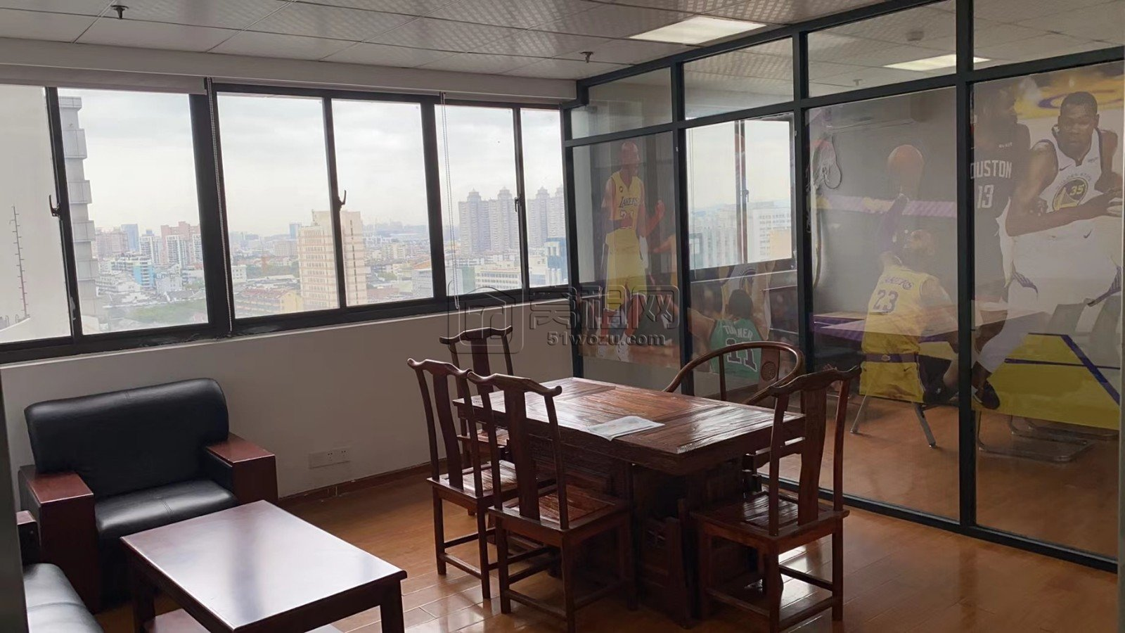 平安大厦对面中山大厦65平米小面积办公室出租