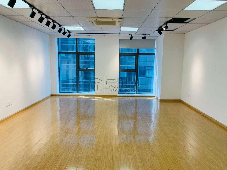 南部商务区博纳大厦88平米出租朝西可做隔间