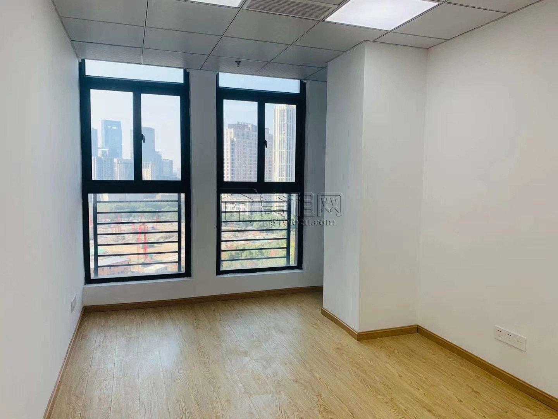 高新区翡翠湾41平办公室精装修出租可定做隔断
