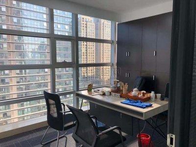 高新区地铁5号线出口写字楼科贸中心出租55平米