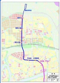 镇海又有地方要拆迁 为地铁3号线二期工程项目