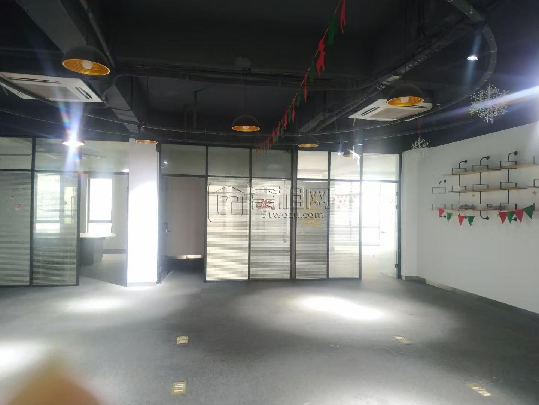 海曙机场附近富港电商城400平精装办公室出租