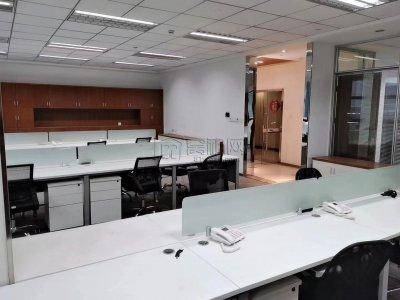 东部新城城投大厦109平米办公室精装修出租