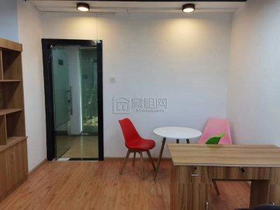中宁大厦隔壁新景江写字楼40平米独立空调办公室