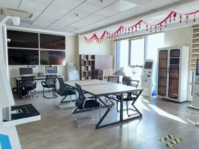 宁波得房率80写字楼出租和荣大厦482平米精装修