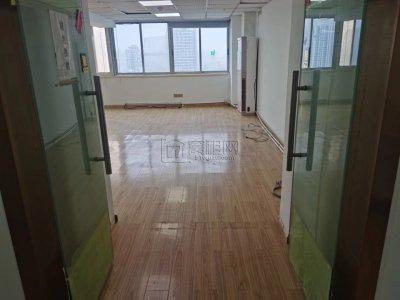 百丈路彩虹大厦110平办公室3200一个月出租