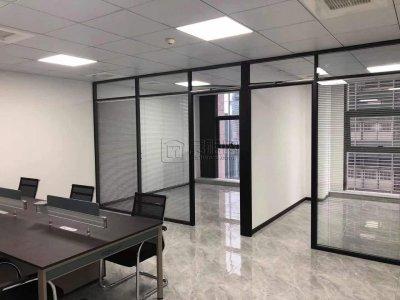 首南街道泰康大厦17楼办公室全新装修出租128平米