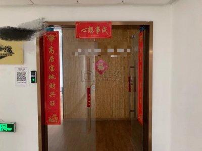 汇鼎大厦9楼4隔间201平米带形象墙出租