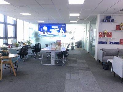 金融硅谷主楼出租超大气装修 东北采光可容纳