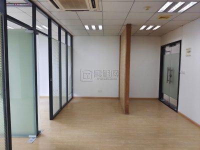 宁波研发园A区90平全景落地窗出租